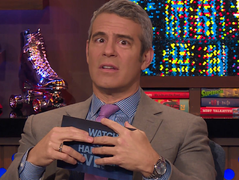 Andy Cohen Says '#MeToo' After 'WWHL' Caller Apologizes for Sexually Harassing Him