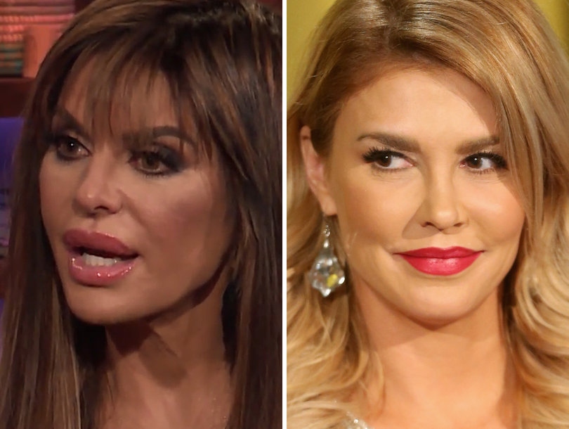 Lisa Rinna Almost Didn't Recognize Brandi Glanville Either: 'I Was Like, Who Is This?'