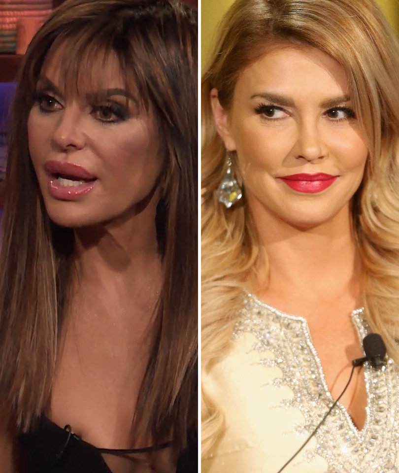 Lisa Rinna Almost Didn't Recognize Brandi Glanville Either: 'Who Is This?'