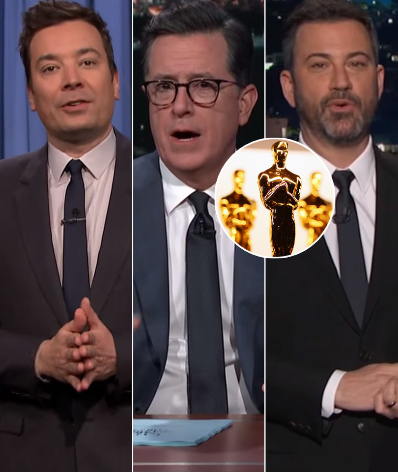 Oscars Take Over Late-Night as Hosts Joke About Nominees