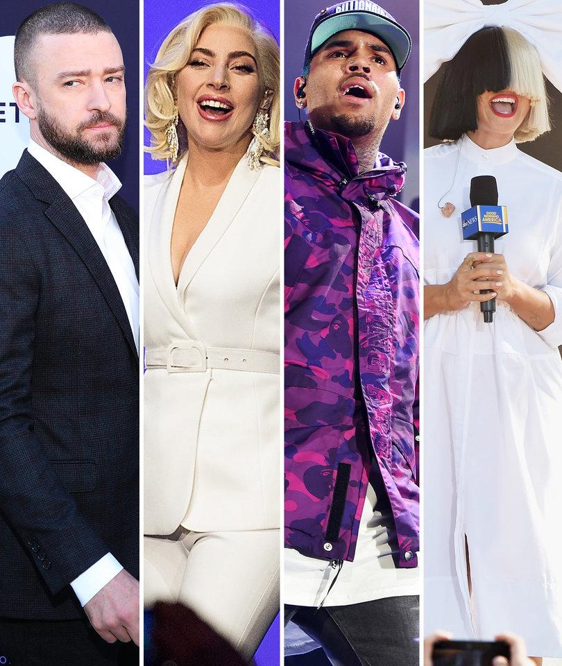 13 Songs You Gotta Hear: Justin Timberlake, Lady Gaga, Sia, Chris Brown