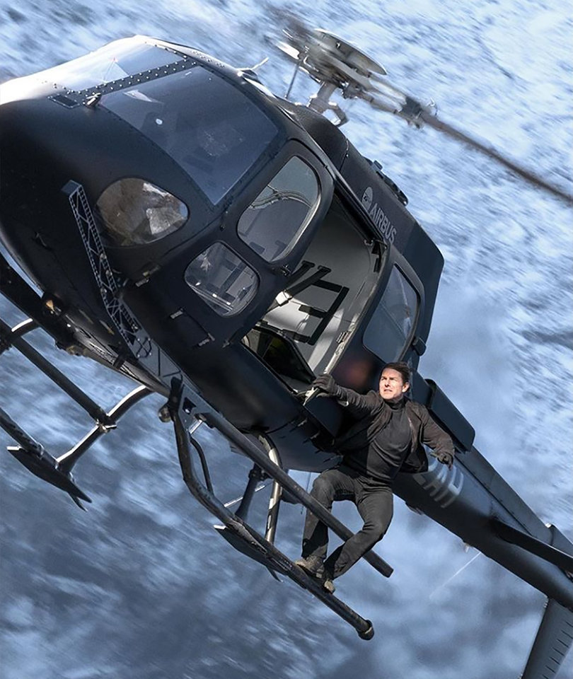Tom Cruise Joins Instagram to Reveal 'Mission: Impossible 6' Title and Insane Helicopter Stunt