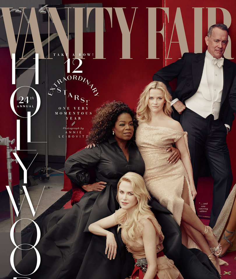 Vanity Fair Hollywood Issue's Creepy Cover Freaks Out the Internet