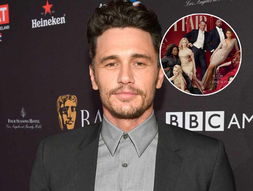 James Franco Was Scrubbed From Vanity Fair Cover Over Sexual Misconduct Allegations