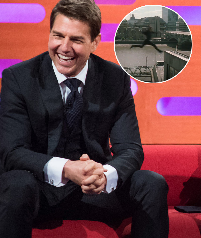 See Moment Tom Cruise Broke His Ankle Filming 'Mission: Impossible - Fallout'