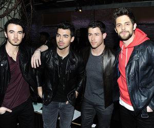 Jonas Brother Reunion In NYC for John Varvatos Fashion Show