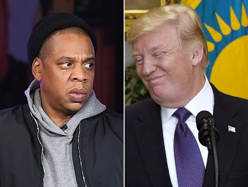 Twitter Explodes as Trump Fires Back at Jay-Z