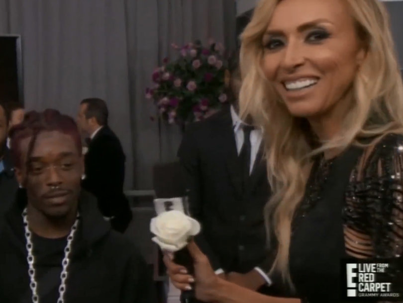 Lil Uzi Vert Gives Giuliana Rancic One Hell of an Awkward Grammys Interview