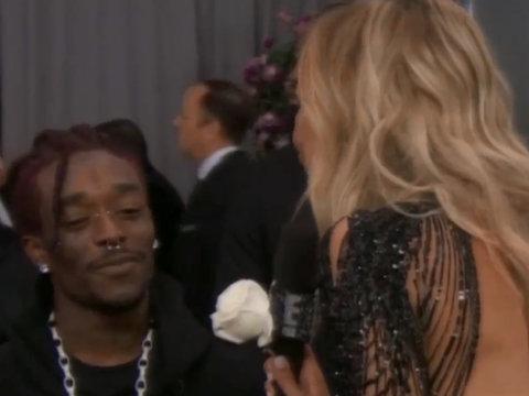 Lil Uzi Vert Gives Giuliana Rancic Awkward Grammys Interview