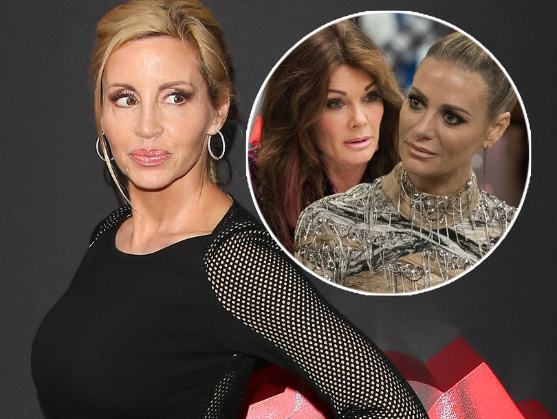 Why Camille Grammer Thinks Lisa Vanderpump Was Behind Dorit Kemsley's 'Stupid C-nt' Jab (Exclusive)