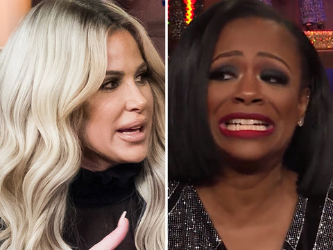 Kandi Burruss Calls BS on Kim Zolciak for 'Lick My Box' Explanation