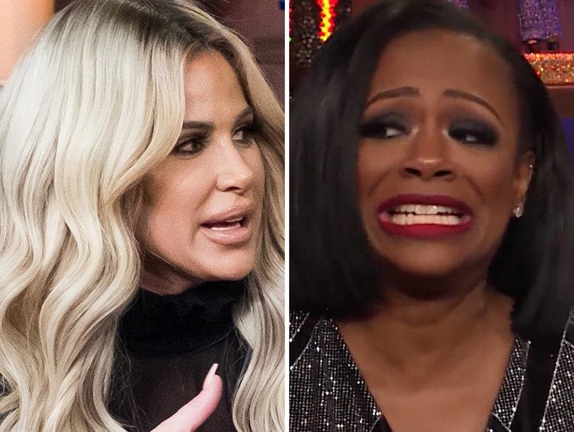 Kandi Burruss Calls 'Bullcrap' on Kim Zolciak's Claim Bravo Edited Her 'Lick My Box' Comment on 'RHOA'