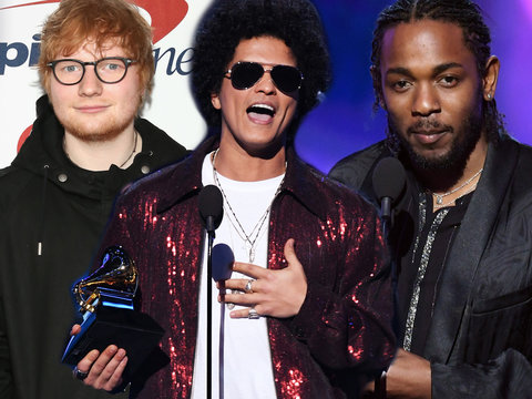 Men Dominate First Grammys of the #MeToo and #TimesUp Era