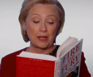 Hillary Clinton's Grammys 'Fire And Fury' Diss Riles Up Twitter
