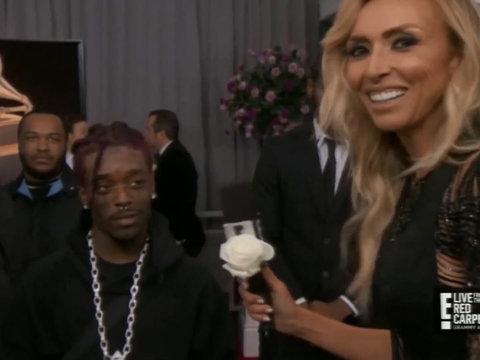 Lil Uzi Vert Gives Giuliana Rancic One Hell of an Awkward Grammys Interview