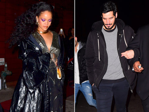 Rihanna Parties with Rumored Boyfriend Hassan Jameel After the Grammys