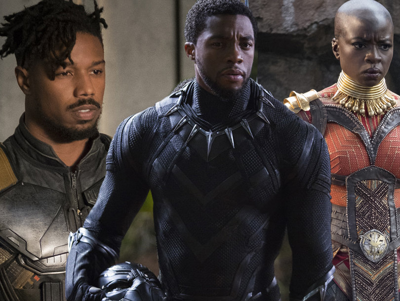 'Black Panther' Cast on Badass Women of Wakanda -- And Being the Only White Guys on Set