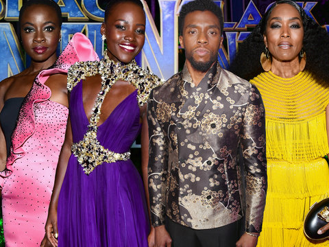The 'Black Panther' Premiere Was the Fashion Event of the Year