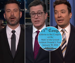 Late-Night Trashes Trump's State of the 'Uniom' Before Speech