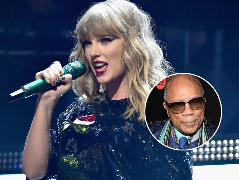 Taylor Swift's Songwriting Skills Slammed by Iconic Producer Quincy Jones: 'We Need More Songs...Not Hooks'