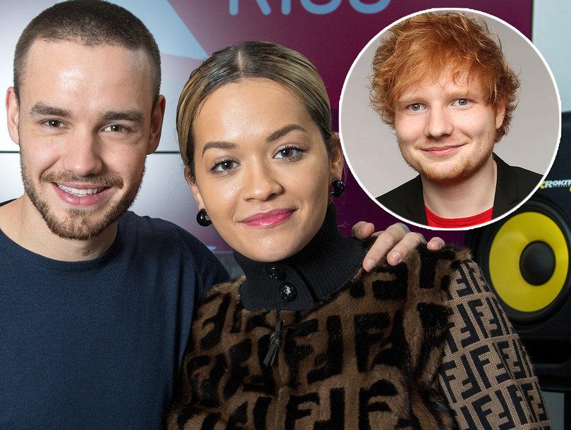 Liam Payne and Rita Ora Defend Ed Sheeran's Grammy Win After #GrammysSoMale Backlash