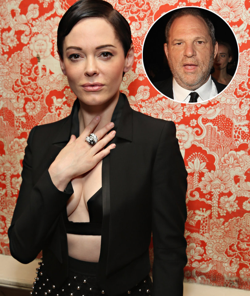 Rose McGowan Curses Weinstein Out After Attempt to Discredit Her