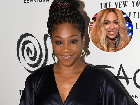 How Beyonce Talked Tiffany Haddish Out of a Fighting at a Party