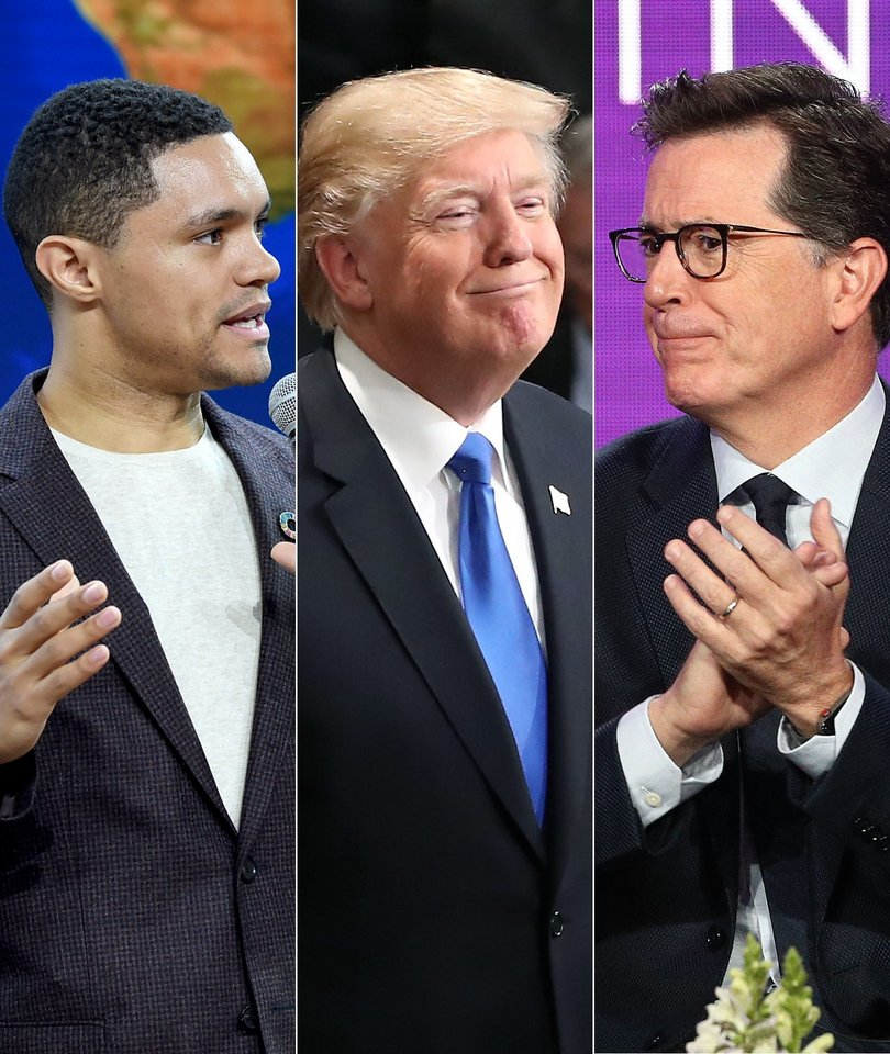 Colbert, Noah Dismantle Trump's State of the Union Address