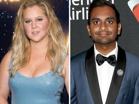 Amy Schumer Sticks Up for Aziz Ansari Accuser
