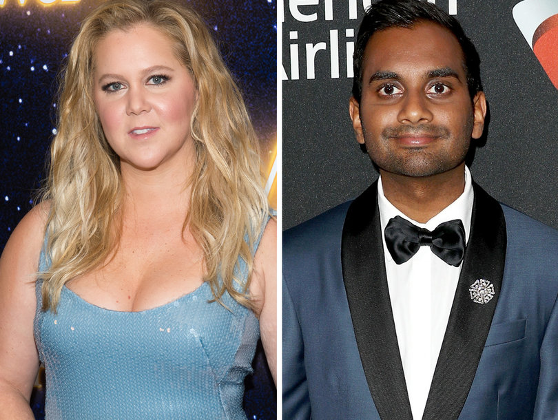 Amy Schumer Sticks Up for Aziz Ansari Accuser, But Doesn't Think He's a 'Criminal'