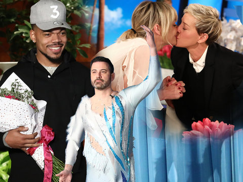 How Ellen's Famous Friends Surprised Her During Birthday Spectacular Show