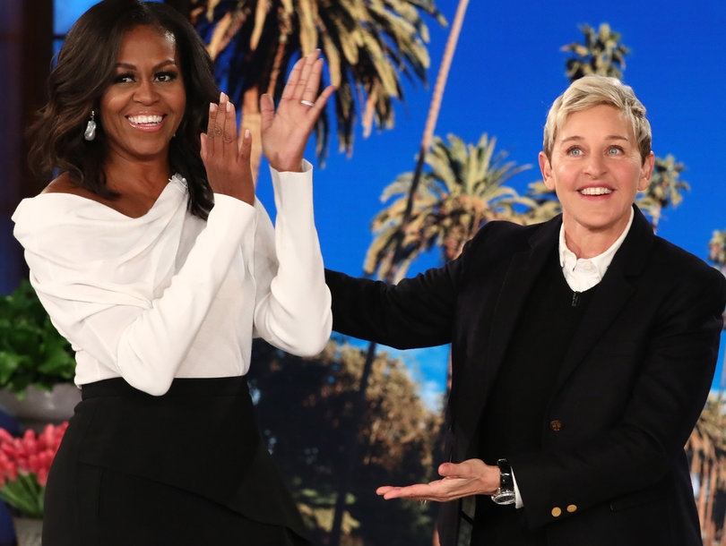 Michelle Obama's Message of Hope for 'Frightened' Ellen