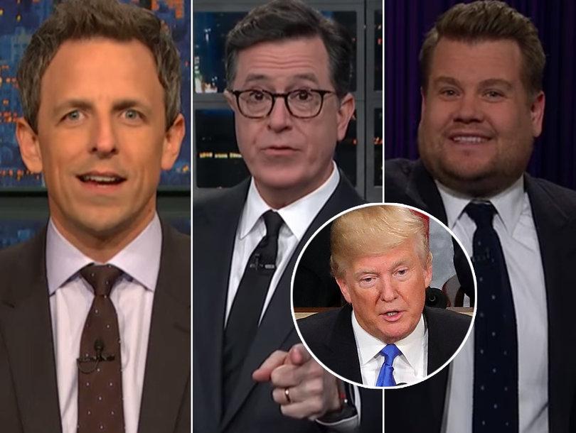 Late-Night Stars Dump on Democrats While Bashing Trump's SOTU