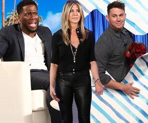 How Jennifer Aniston, Kevin Hart, Channing Tatum Surprised Ellen Today