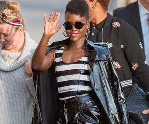 Lupita Nyong'o is Straight Off a Runway at 'Kimmel'