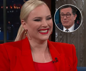 Meghan McCain Gives Colbert Her Real Feelings on Frenemy Joy Behar