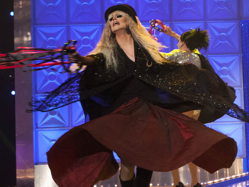 Eliminated 'Drag Race' Star Believes She Was 'Set Up to Fail' with 'Crappy, Unfunny' Steve Nicks Bit