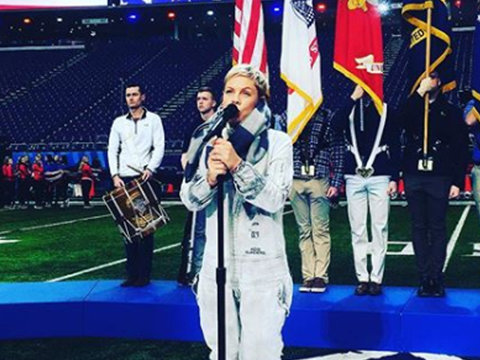 Why P!nk May Have Trouble With the National Anthem at Super Bowl LII