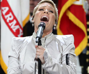 What Flu? P!nk Crushes National Anthem at the Super Bowl