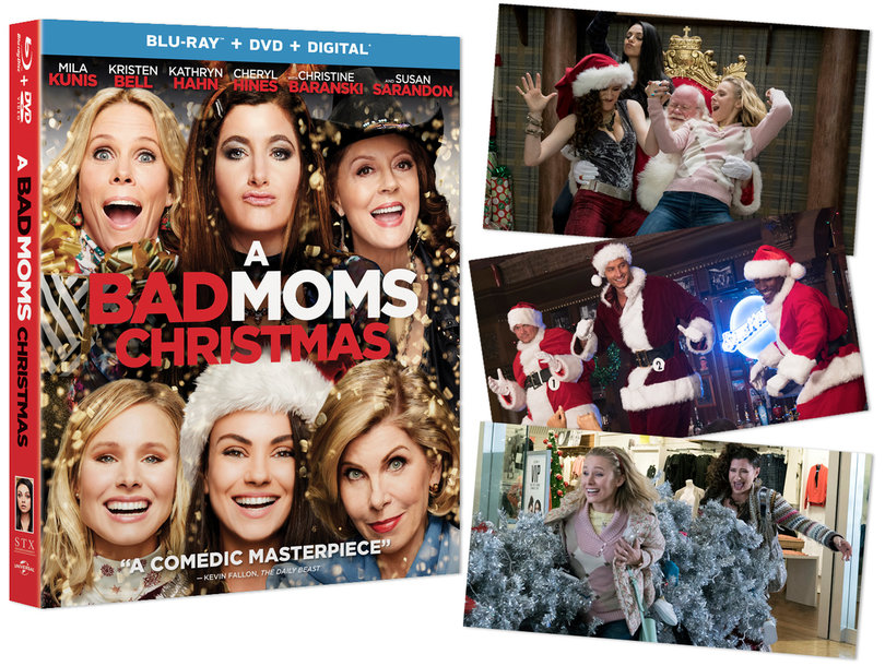 Win a 'Bad Moms Christmas' Gift Bundle for the Perfect Night In