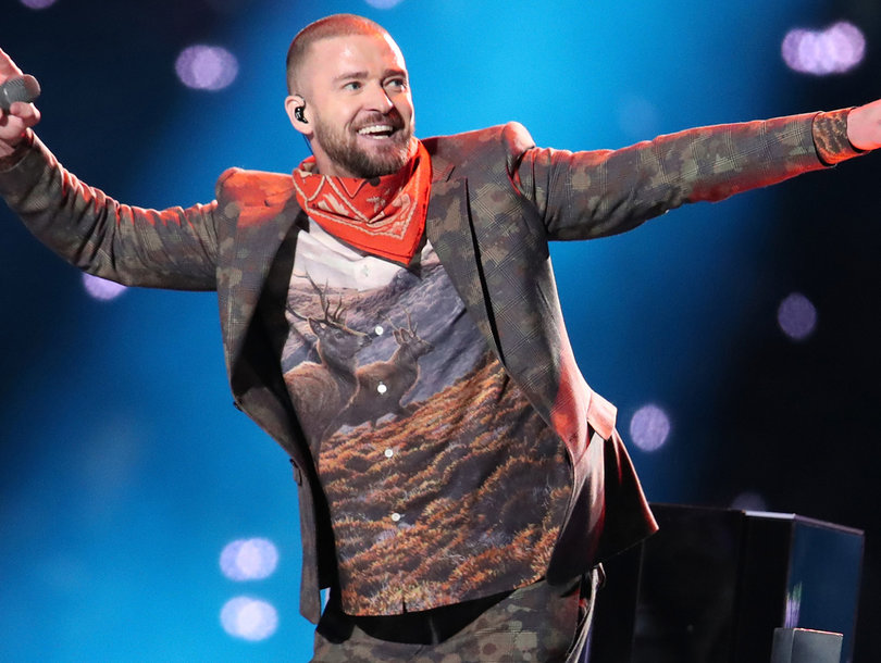 See Justin Timberlake's Super Bowl Halftime Show -- And What Hollywood Is Saying About It
