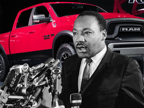 MLK Jr.'s Estate Approved Controversial Ram Super Bowl Ad, Not His Family