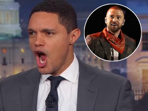 Trevor Noah Sums Up JT's Super Bowl Performance as 'Karaoke'