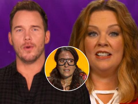 Ellen Enlists Chris Pratt, Melissa McCarthy 'Game of Games'
