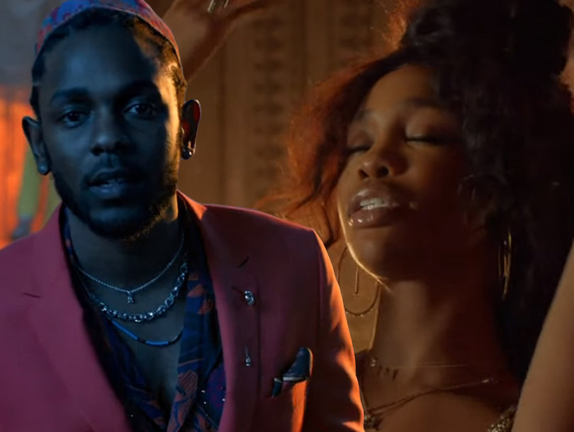 Kendrick Lamar and SZA Celebrate Africa In 'Black Panther' Music Video for 'All the Stars'