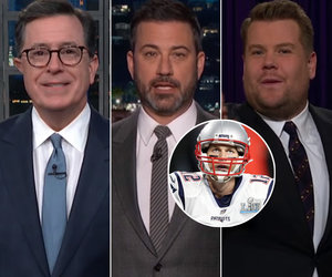 Late-Night Hosts Marvel at Philadelphia Riot After Super Bowl