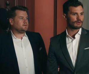 Jamie Dornan Enters James Corden's 'Play Room' In 'Fifty Shades' Parody