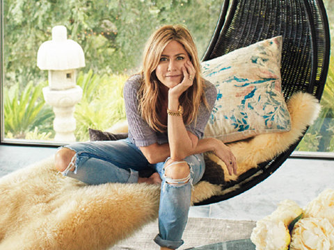 See Inside Insanely Gorgeous Home Aniston Shares with Justin Theroux