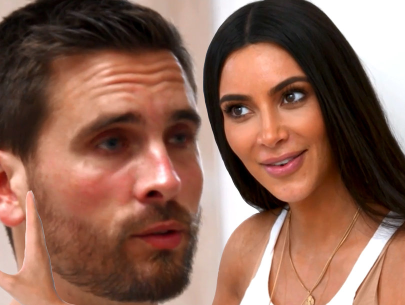 Whoops! Everybody In the Kardashian Family Forgot to Tell Scott Disick Kim Was Having Another Kid