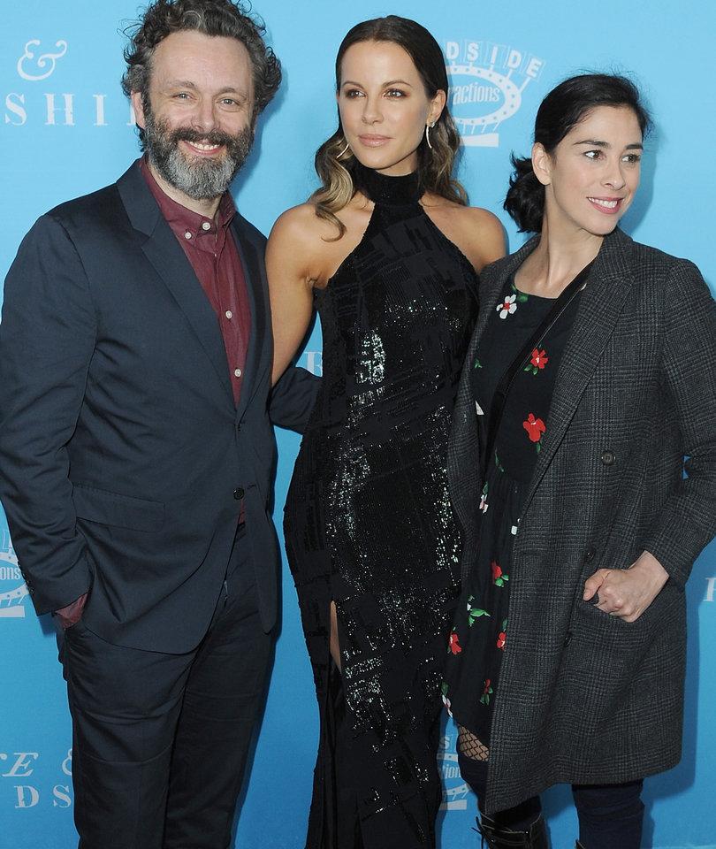 How Kate Beckinsale Trolled Sarah Silverman After Michael Sheen Split